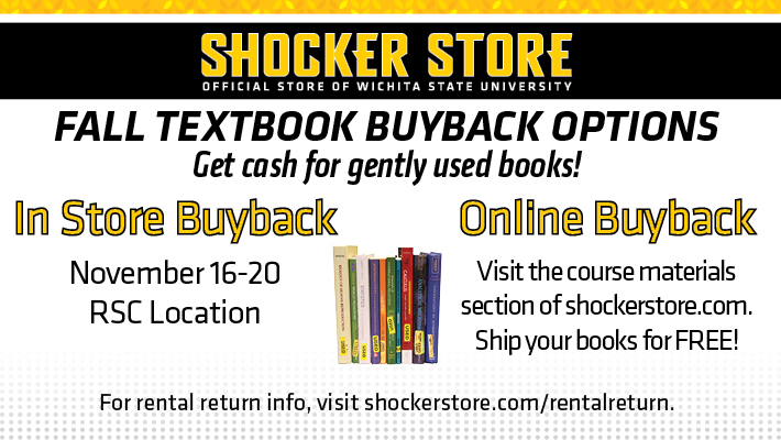 Fall 2020 textbook buyback information
