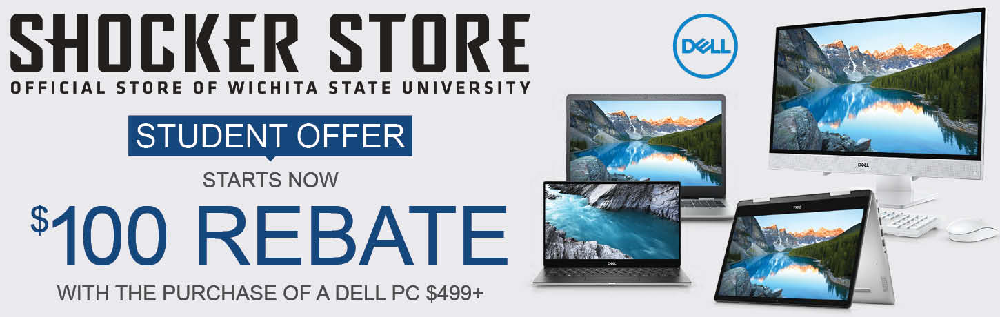 $100 rebate on the purchase of a Dell PC over $499
