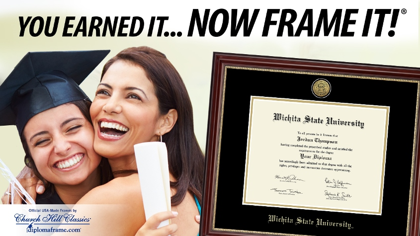 You earned it. Now frame it. Order your custom diploma frame from Church Hill Classics