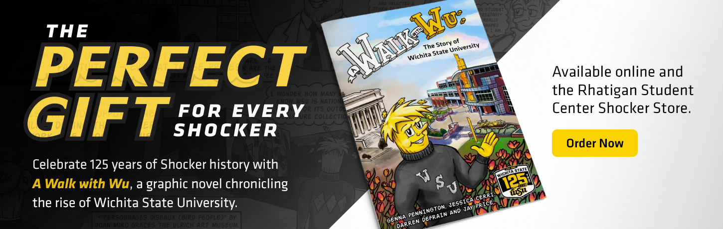 A Walk with Wu graphic novel celebrating WSU's 125th anniversary