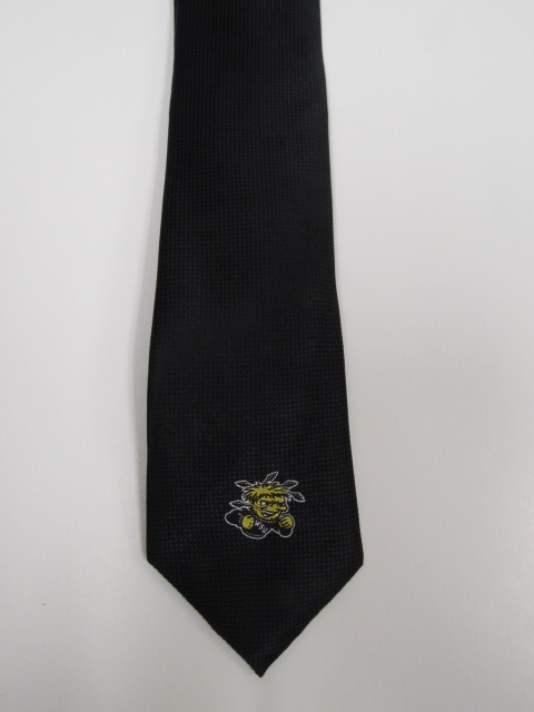 Image For Tie: Black with Wu