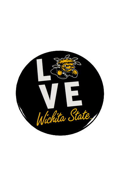 Image For Jumbo Button: LOVE WSU