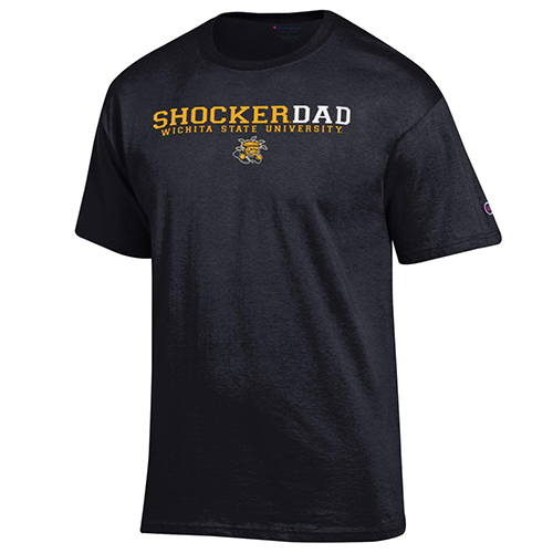 Image For Tee: Shocker Dad Gold/White