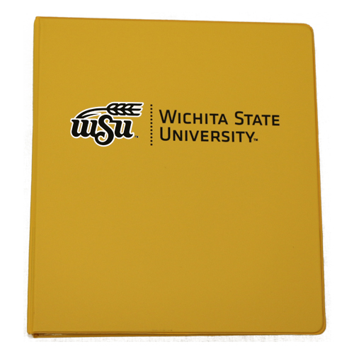"Cover Image For BINDER-1"" WHEAT LOGO"