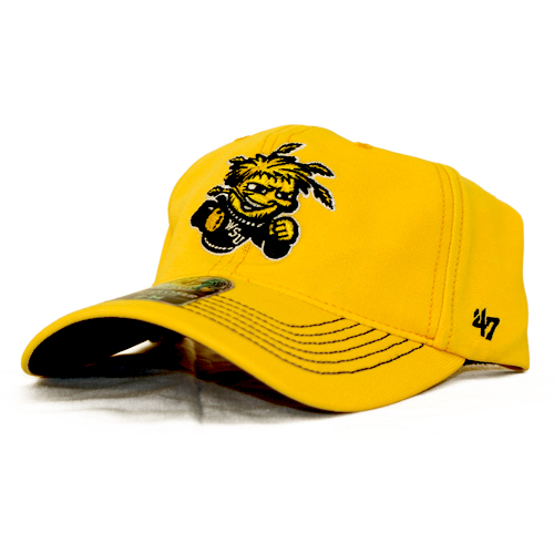Image For Hat- 47 Brand Gold Game Time Stitch
