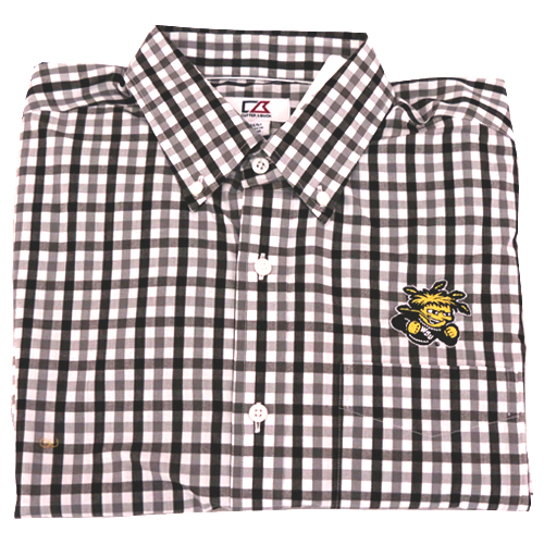 Image For Dress Shirt: Plaid Wu
