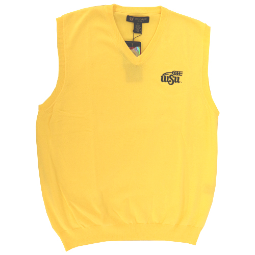 Image For Oxford Golf WSU Wheat® Sweater Vest