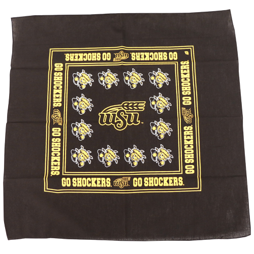 Image For BANDANA-GO SHOCKERS EDGES