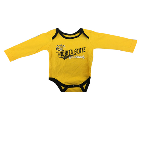 Image For Colosseum Gold and Black Onesie Two-Pack