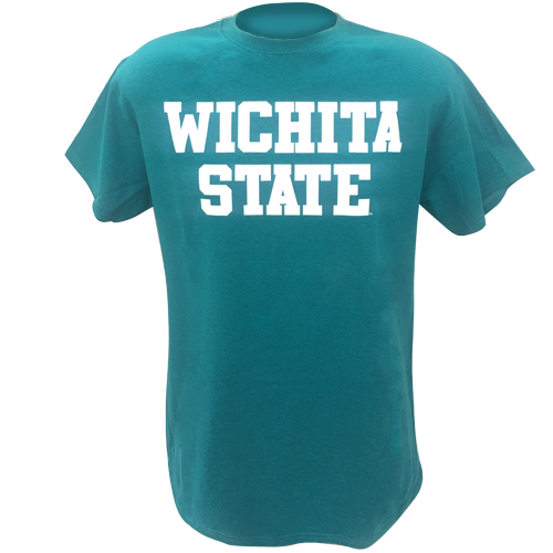 Image For Basic Wichita State Colored Tee