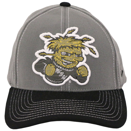 Image For Zephyr Grey Chain Stitch Hat with Wu