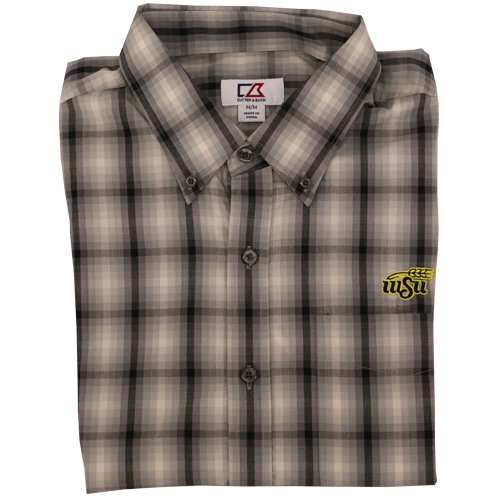 Cover Image For DRESS SHIRT-OMBRE PLAID