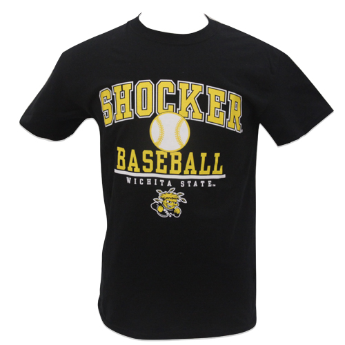 Image For TEE Shocker Baseball Wichita State