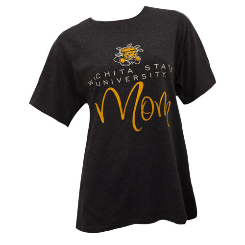 Cover Image For Gear® Wichita State University™Mom Women's T-Shirt