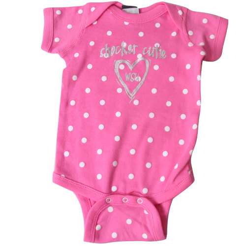 Image For ONESIE-POLKA DOT CUTIE