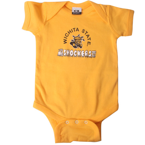 Cover Image For CI Apparel®WichitaState Shockers™Infant Onesie