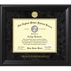 Thick Wooden Black TreeHugger Diploma Frame with Medallion Image