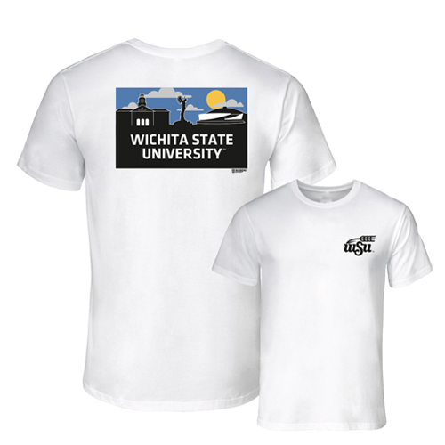 Image For Uscape Apparel® WSU Wheat® T-Shirt