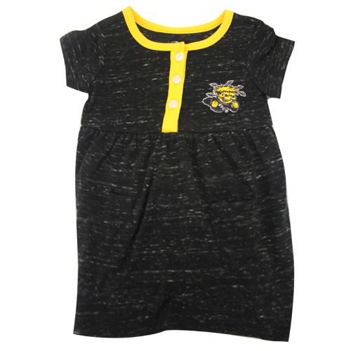 Image For Wu 3-button Infant Dress