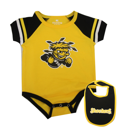 Image For Wu Onesie with Shockers Bib
