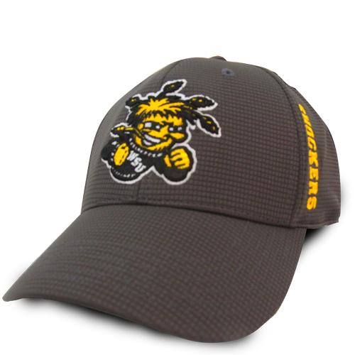 Image For Charcoal 3Hit Wu, Shockers, and Wheat Logo Hat