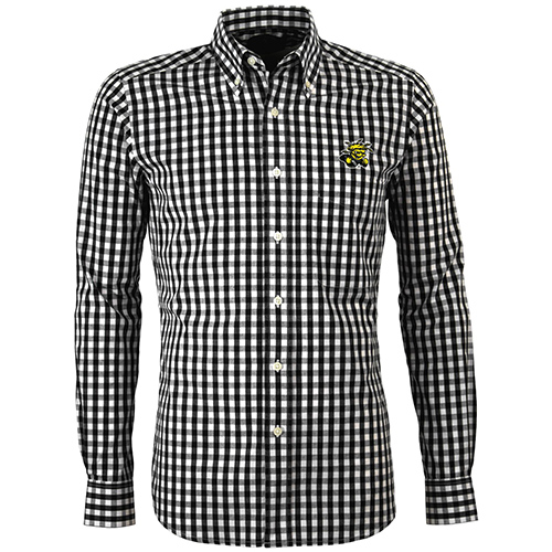 Image For Men's Checked Dress Shirt- National