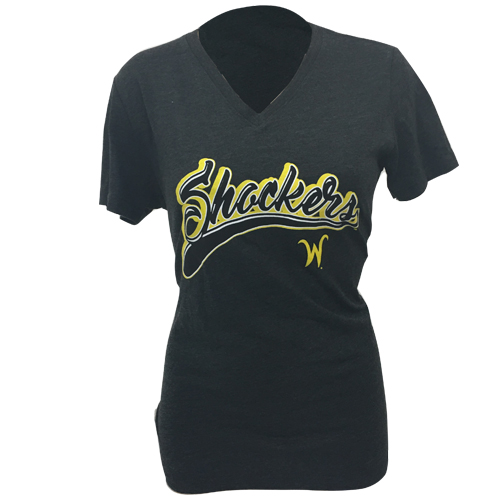 Image For Ladies V-neck Shockers with Flying W