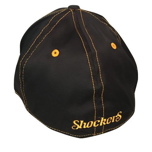 Image For Hat- 47 Brand Black with Yellow Stitching, Charcoal Flying W
