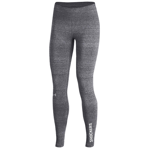 Image For Under Armour Leggings Textured with Shockers on Ankle