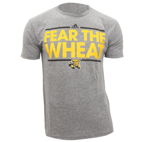 Image For Tee: Adidas Triblend Fear the Wheat