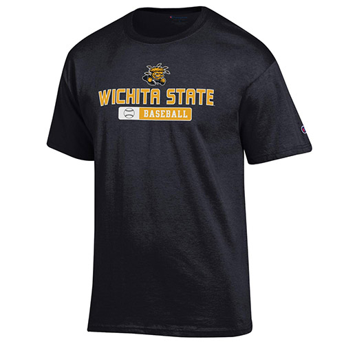 Image For Champion® Wichita State™ Baseball Team T-Shirt
