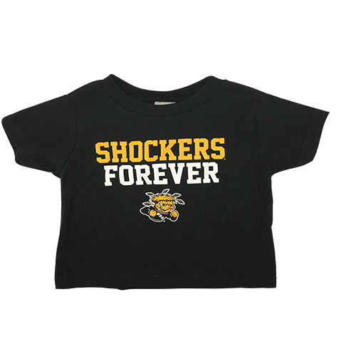 Image For CI Sport Toddler T-Shirt Shockers Forever over Wu