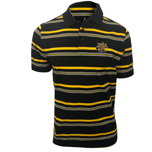 Image For Under Armour Striped Polo Wu