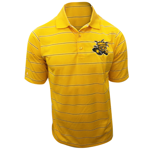 Image For Antigua Deluxe Polo Striped with Wu