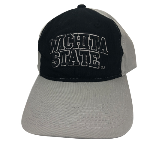 Image For Hat- The Game Gray Adj. with Black Front Panel Wichita State
