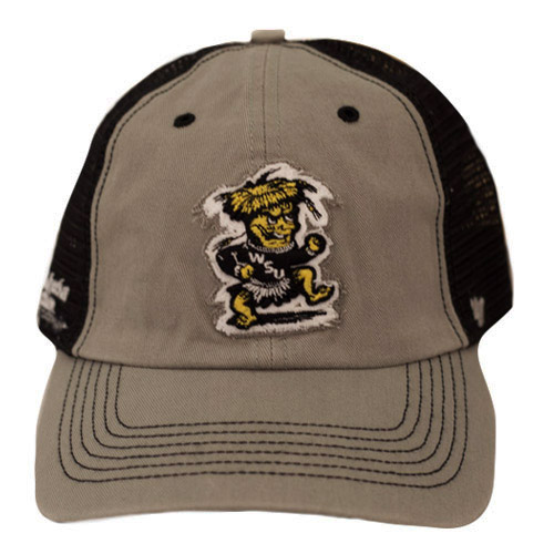 Image For Hat- 47 Brand Gray with Black Mesh Stomping Wu