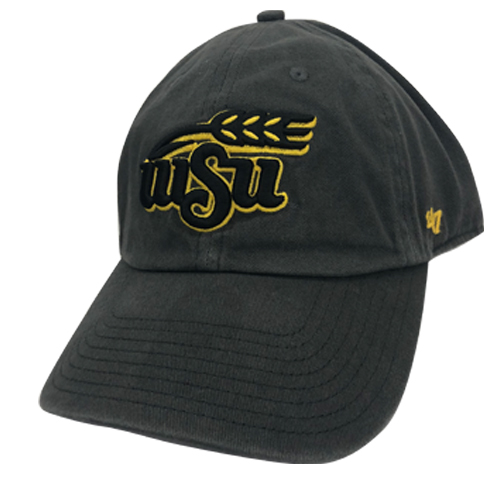 Image For Hat- 47 Brand Wheat Logo Adj. Cleanup