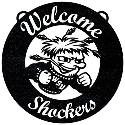 Cover Image For Gameday Ironworks WuShock® Welcome Sign