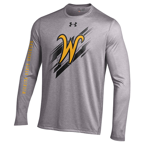 Image For Under Armour Long Sleeve T-shirt Flying W 2Hit