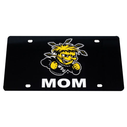 Image For WuShock® Mom License Plate