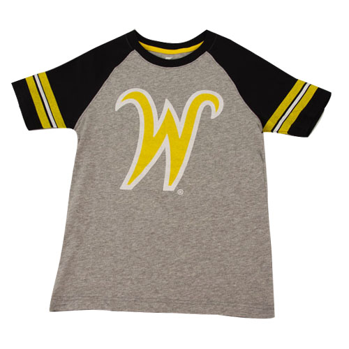 Image For Colosseum® FlyingW® Youth Raglan T-Shirt