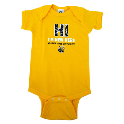 Image For Infant Onesie- New Here
