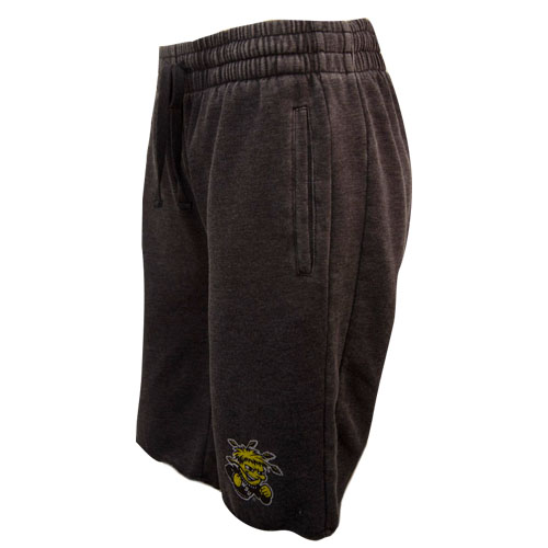 Image For Shorts-Relaxed Cut-off Sweats with Wu