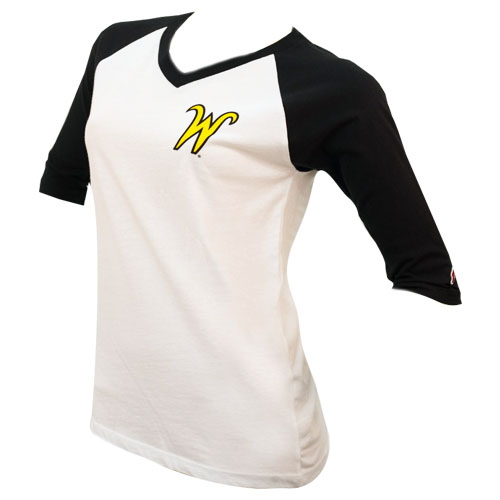 Image For Raglan- Ladies League FW 3/4 Sleeve