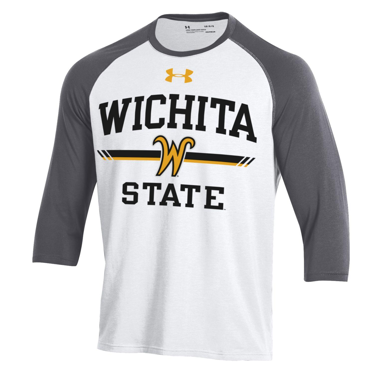 Image For Raglan- UA Gray/White with Flying W