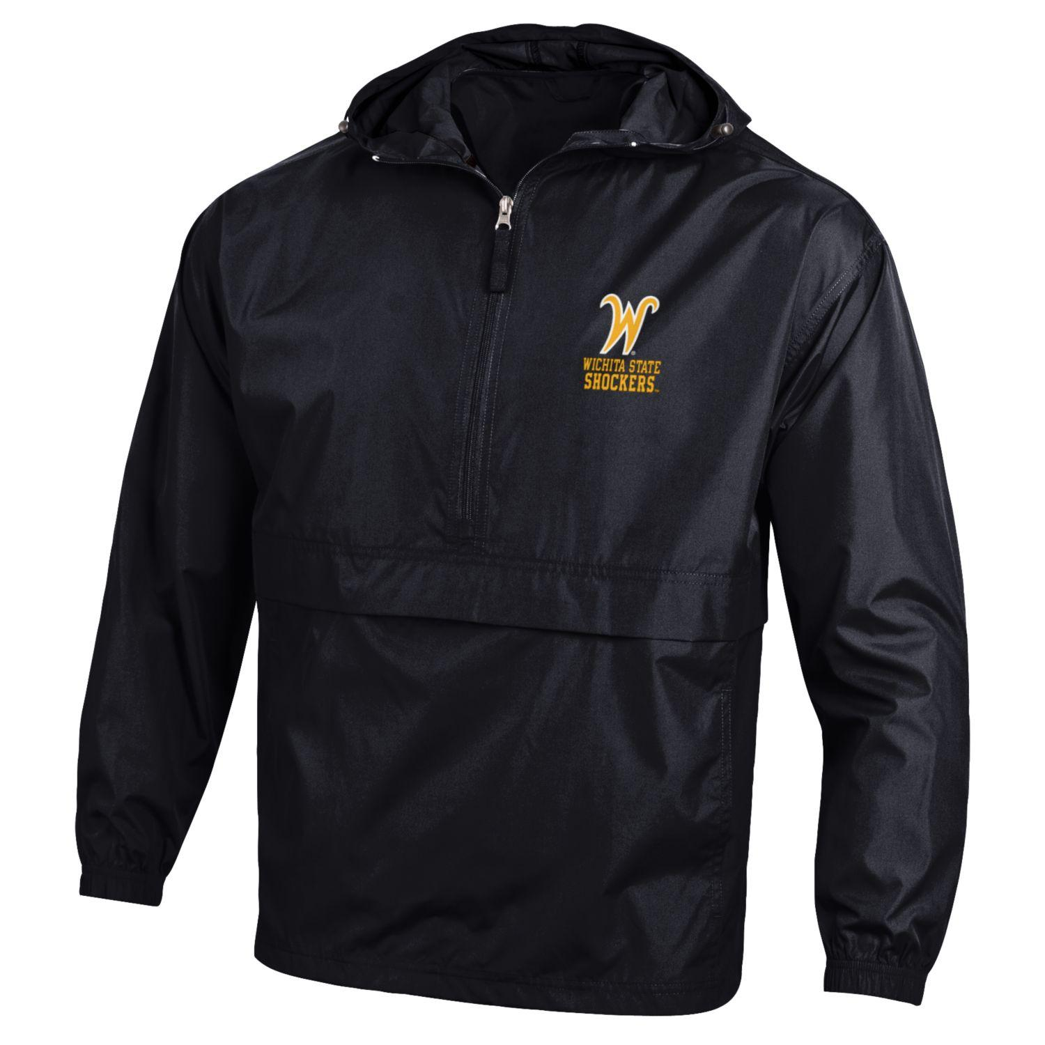 Image For 1/2 Zip- Champion Wind Breaker with Hood, Flying W
