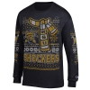 """Ugly sweater"" long sleeved t-shirt with WSU Scarf Print Image"