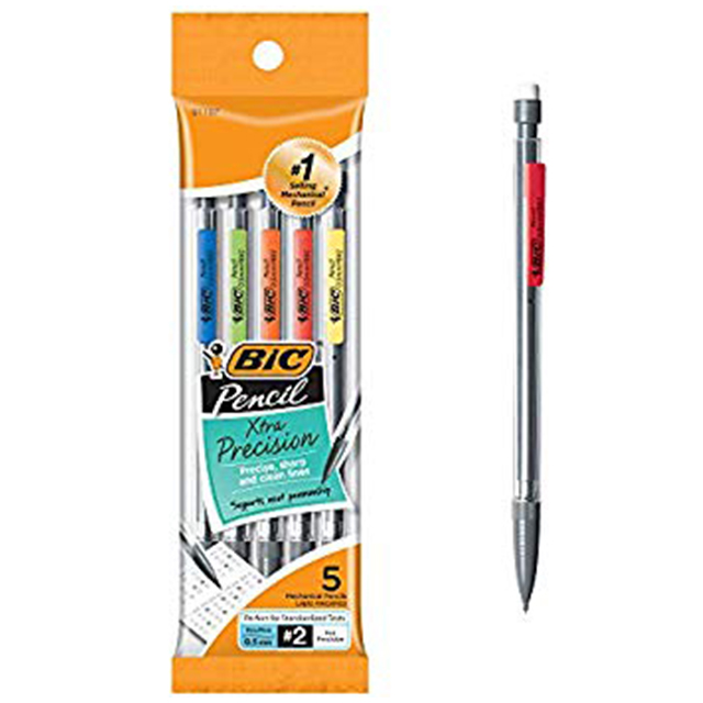 Image For BIC MECH 5PK .5
