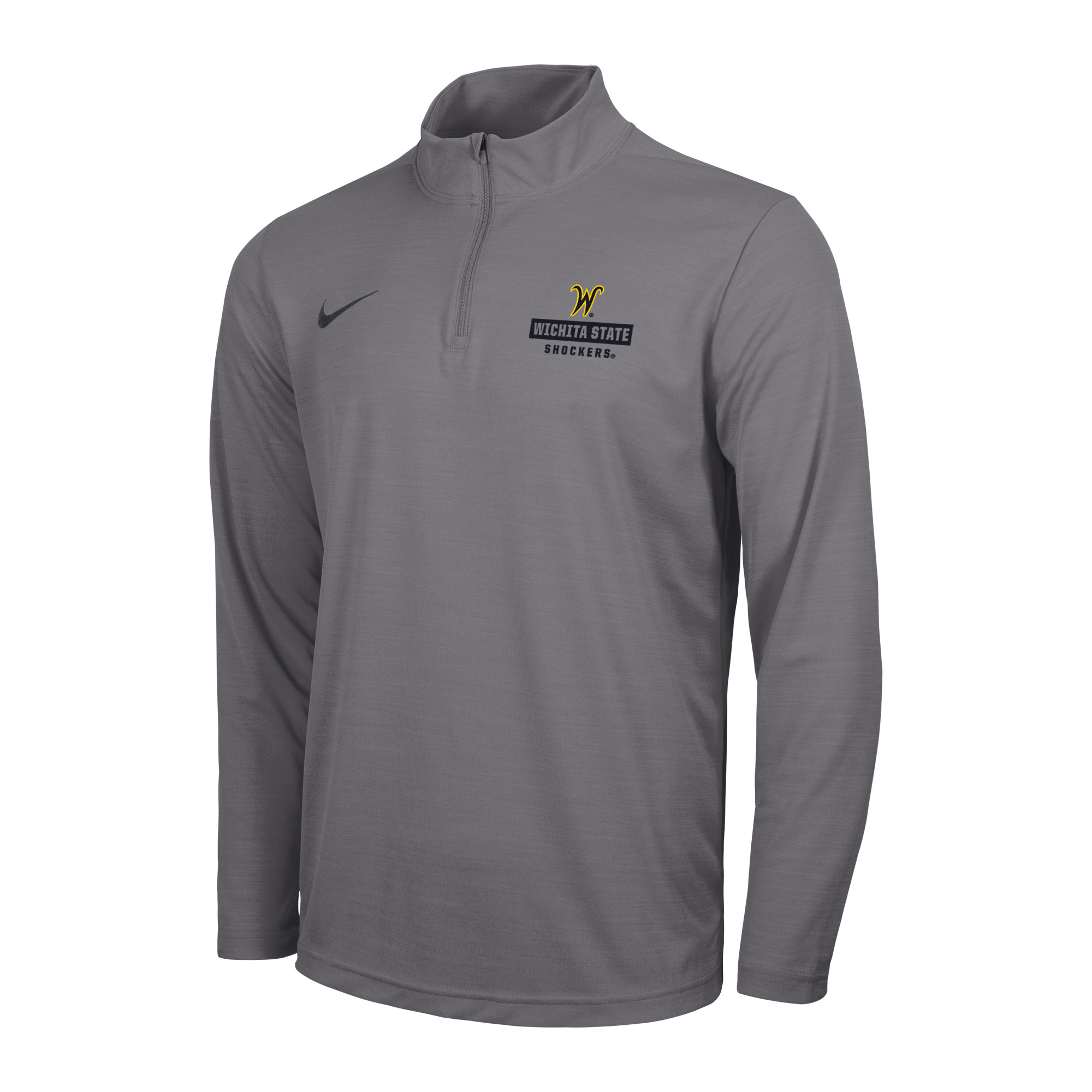 Image For 1/4Zip Nike Intensity w/ Flying W Over Wichita State Shocker