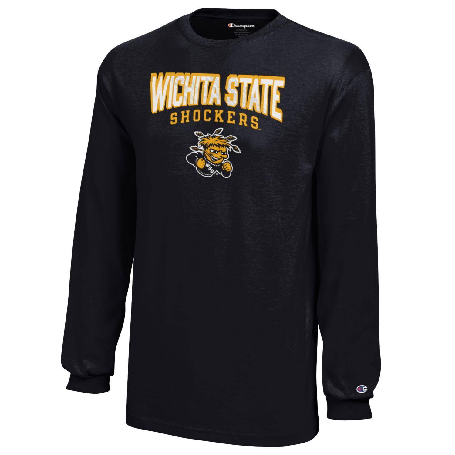 Image For Champion® WichitaState™ Youth Long-Sleeve T-Shirt